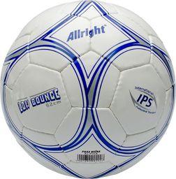 Allright Piłka nożna Alpha biało-niebieska r. 4 (FBHALAP)