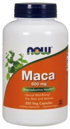 NOW Foods Maca 500mg 250 kapsułek
