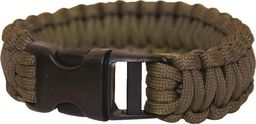 BCB Bransoleta survivalowa Paracord Bracelet Olive Drab (CM073G)