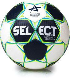 Select Piłka ręczna Ultimate Replica Womens EHF Champions League Lilliput Select biało- czarna r. 1