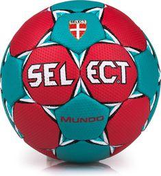 Select Piłka ręczna Mundo Mini czerwono- niebieska r. 0