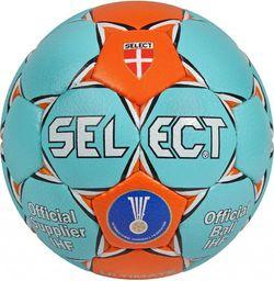 Select Piłka ręczna Ultimate IHF niebiesko- pomarańczowa r. 2