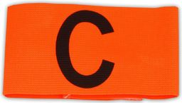 Select Opaska kapitana Armband Velcro pomarańczowy (6977802666)