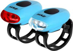 Kellys Zestaw lamp rowerowych Eggy Set Blue