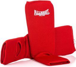 Allright Ochraniacz nagolennik ze stopą 9905 czerwony roz. XL