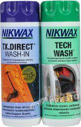 Nikwax Zestaw do pielęgnacji odzieży i sprzętu outdoor Tech Wash/TX.Direct 2x300ml (NI-32)