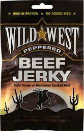 Wild West Suszona wołowina Beef Jerky Peppered 25g Wild West  roz. uniw