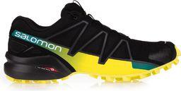 Salomon Buty męskie Speedcross 4 Black/Sulphur Spring r. 44 2/3 (39466)