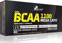 OLIMP Aminokwasy BCAA 1100mg Mega Caps 120 kaps.