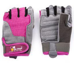 Olimp Rękawice Treningowe Damskie Fitness One Olimp Pink Różowe r. XL