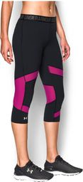 Under Armour Spodnie damskie Capri Under Armour Black/Magenta Shock r. XS (1271535007)