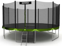 Zipro Trampolina ogrodowa Jump Pro z siatką zewnętrzną 16FT 496cm + torba na buty GRATIS!