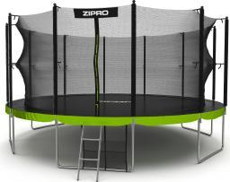 Zipro Trampolina ogrodowa Jump Pro z siatką wewnętrzną 16FT 496cm + torba na buty GRATIS!