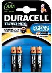 Duracell Baterie alkaliczne Turbo Max Powercheck LR03/AAA Duracell  roz. uniw