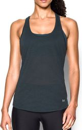 Under Armour Koszulka damska Streaker Under Armour Stealth Gray/Black r. L (1271522008)