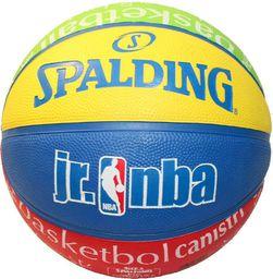 Spalding Piłka Do Koszykówki Juniorska NBA Jr Coloured 5 Rozmiar Uniwersalny (83-047Z)