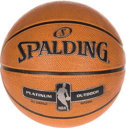 Spalding Piłka do koszykówki Platinum Outdoor r. 7