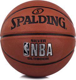 Spalding Piłka do koszykówki NBA Silver Outdoor r. 5 (83014Z)