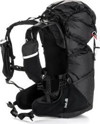 Salomon Plecak trekkingowy Peak 40 Black/Bright Red
