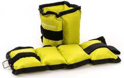 Meteor Obciążniki na nogi i ręce żółte 2x0.5 kg (30150)