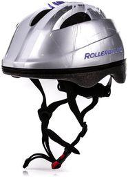 Rollerblade Kask ochronny Zap Kid Helmet Silver  r. 52-56