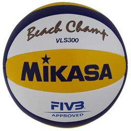 Mikasa Piłka siatkowa plażowa meczowa biała r. 5 (VLS300)