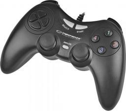 Gamepad Esperanza EGG105K Fighter Czarny