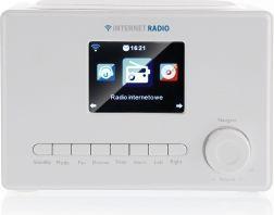 Radio ART X102 LCD białe