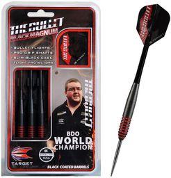 Target Rzutki do darta steel Bunting 18g czarne (100602B)