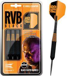 Target Rzutki do darta steel RVB Black 22g multikolorowe (100111)