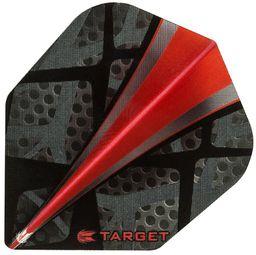 Target Piórka 300640 czarno-czerwone 3 szt.