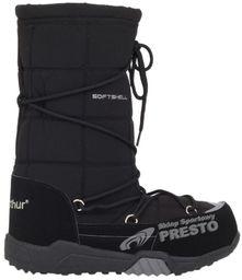 McArthur Buty zimowe damskie śniegowce SoftShell McArthur czarny 3940 2000010408412 ID produktu: 1608946