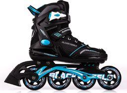 Rolki Blackwheels Slalom rekreacyjne czarne r. 41
