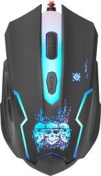 Mysz Defender Skull GM-180L + Podkładka + Kod do gry WarThunder (MMDNE80UGB00)