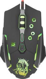 Mysz Defender Killer GM-170L + Podkładka + Kod do gry WarThunder (MMDNE70UGB00)