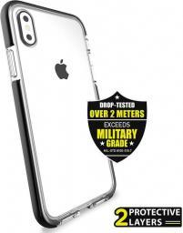 PURO Impact Pro Flex Shield Etui iPhone X, czarny (IPCXFLEXSHBLK)
