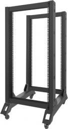 Szafa Lanberg open rack 19'' 22U 600x800mm czarna (OR01-6822-B)