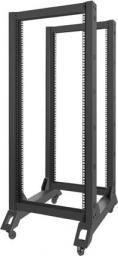Szafa Lanberg open rack 19'' 27U 600x800mm czarna (OR01-6827-B)