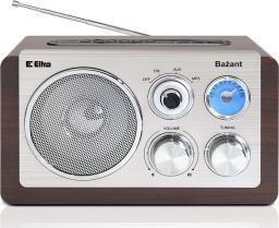 Radio Eltra Bażant USB, SD, AUX, drewno