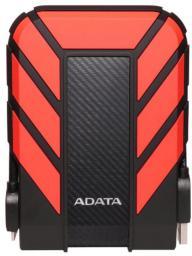 Dysk zewnętrzny ADATA HDD DashDrive Durable HD710 2 TB Czerwono-czarny (AHD710P-2TU31-CRD)