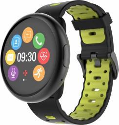 Smartwatch MyKronoz MyKronoz ZeRound 2 HR Premium (KRZEROUND2HR-BK/YELL)