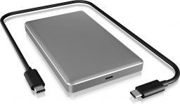 Kieszeń RaidSonic IcyBox Obudowa Zewnętrzna na Dysk 2,5'' SATA HDD/SSD (IB-245-C31-G)