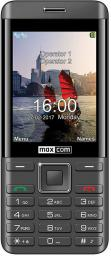 Telefon komórkowy Maxcom MM236 (DualSIM) Srebrny