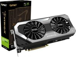 Karta graficzna Palit GeForce GTX 1070 Ti Jetstream 8GB GDDR5 (256 bit) DVI-D, HDMI, 3xDP, BOX (NE5107T015P2-1041J)