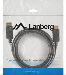 Kabel Lanberg DisplayPort - DisplayPort 3m czarny (CA-DPDP-10CC-0030-BK)