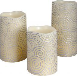 Lampa stołowa Retlux z naturalnego wosku 3szt. LED (RLC 36)