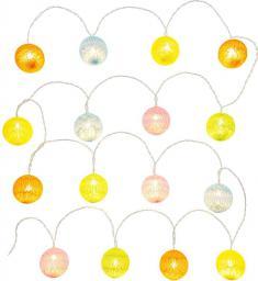Lampki choinkowe Retlux LED na baterie biały ciepły  (RXL 150)