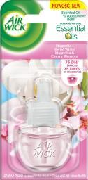 Air Wick Air Wick Elektryczny  Magnolia i Kwiat Wiśni 19 ml Wkład