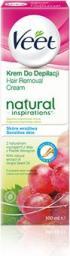 Veet Natural Inspirations Krem do depilacji z olejem z Pestek Winogron 100ml