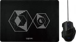 Mysz LogiLink Combo Set Black (ID0162)